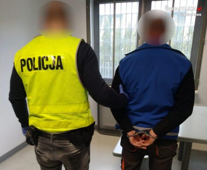 Ugodził syna nożem, zatrzymała go częstochowska policja 2