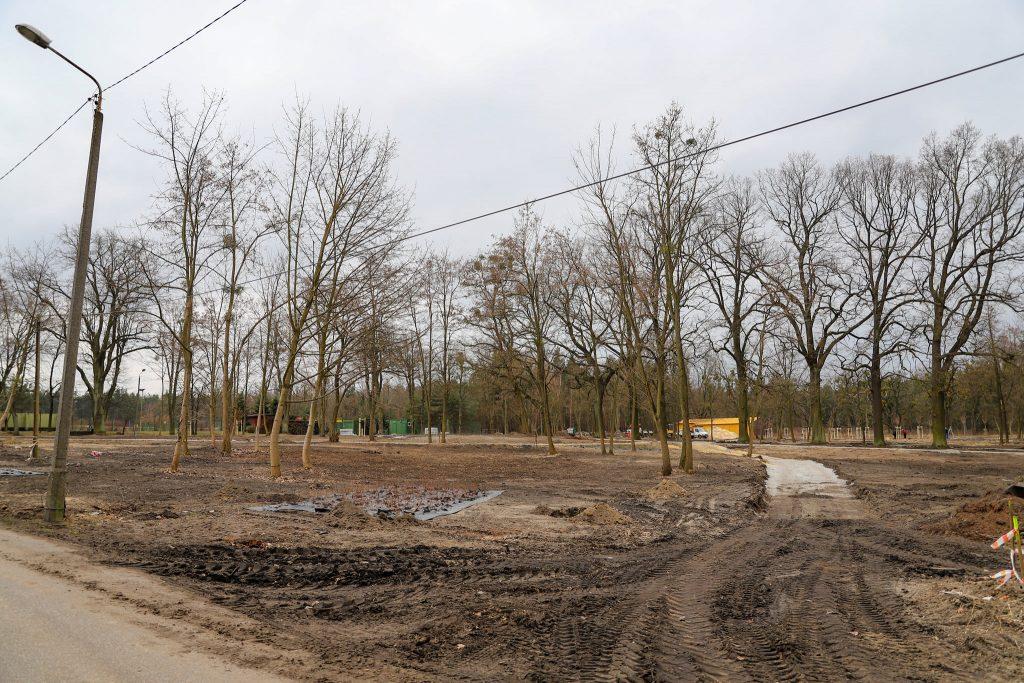 W Lublińcu powstaje kolejny park przy rzece 1