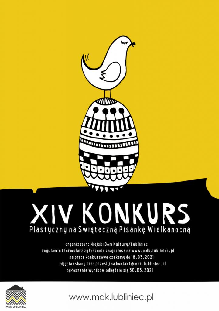 """XIV Konkurs Plastyczny """"Wielkanocna Pisanka"""" w MDK Lubliniec 1"""