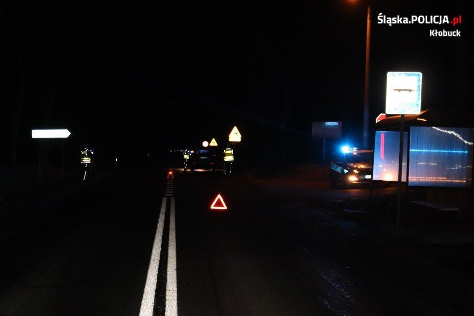 Kłobucka policja wyjaśnia okoliczności wypadku z udziałem nastolatki 1
