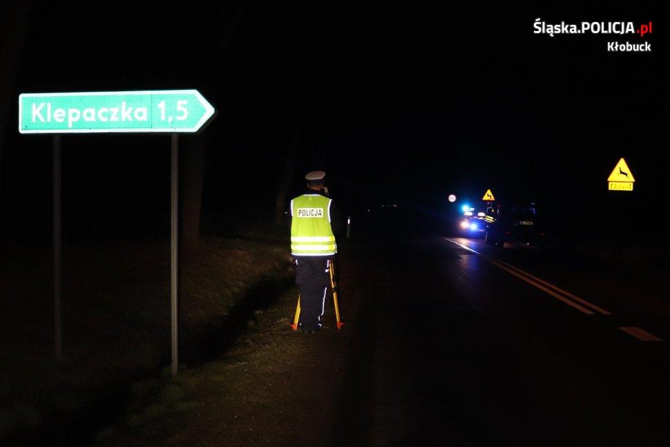Kłobucka policja wyjaśnia okoliczności wypadku z udziałem nastolatki 2