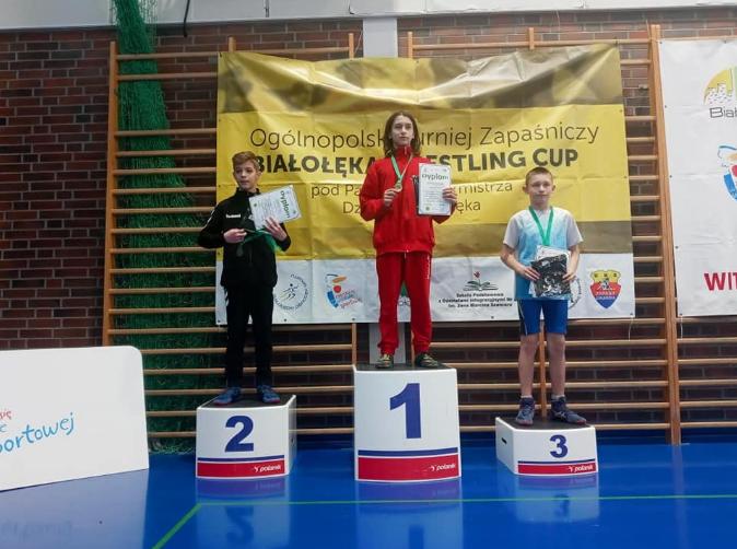 Zapaśnicy z Radomska z medalami 1