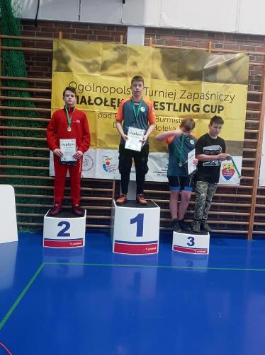 Zapaśnicy z Radomska z medalami 2