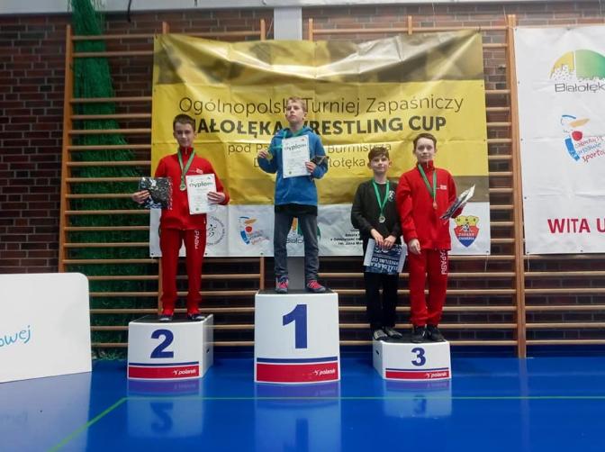 Zapaśnicy z Radomska z medalami 5