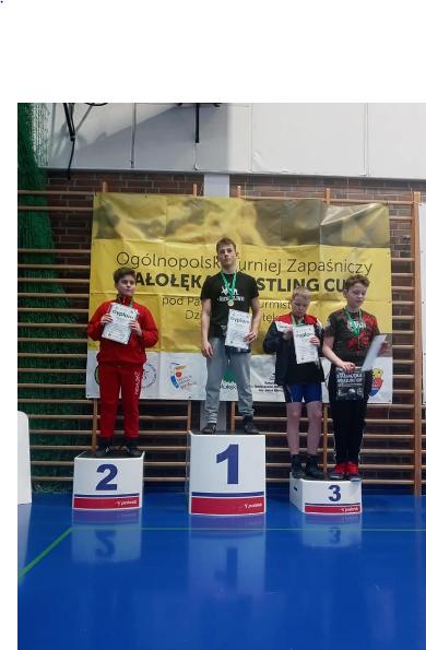 Zapaśnicy z Radomska z medalami 6