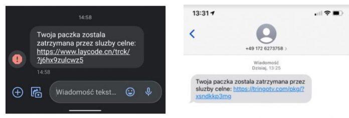 Uważaj na SMS-y dotyczące rzekomo Twojej przesyłki! Częstochowscy policjanci ostrzegają: możesz paść ofiarą oszustwa! 2