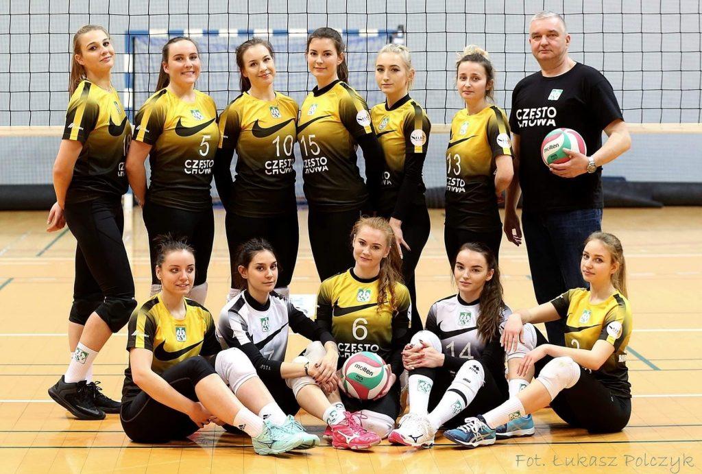 Siatkarki AZS Częstochowa jadą walczyć o 1. miejsce z KPKS-em Halemba. Awans już sobie zapewniły... 1