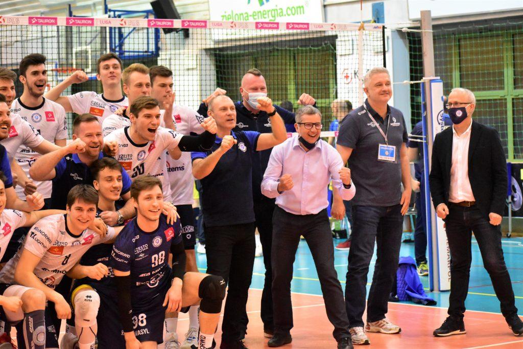 Brawa dla siatkarzy Exact Systems Norwida za najlepszy sezon w historii klubu 1
