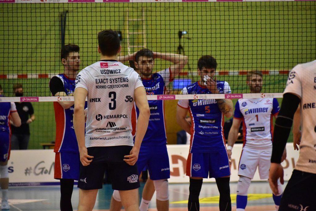 Porażka siatkarzy Exact Systems Norwida w pierwszym meczu play-off z Gwardią Wrocław 12