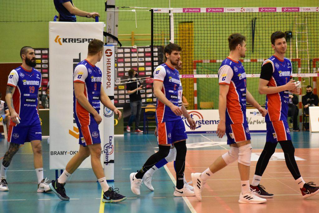 Porażka siatkarzy Exact Systems Norwida w pierwszym meczu play-off z Gwardią Wrocław 9