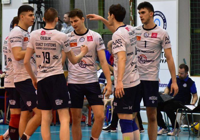 Siatkarze Exact Systems Norwida powalczyli, ale po raz drugi słabsi w play-off od Gwardii Wrocław 2