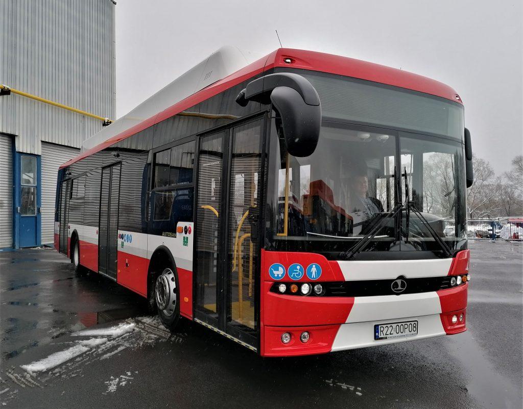 Na drogach Podkarpacia testują elektryczny autobus dla Częstochowy 1