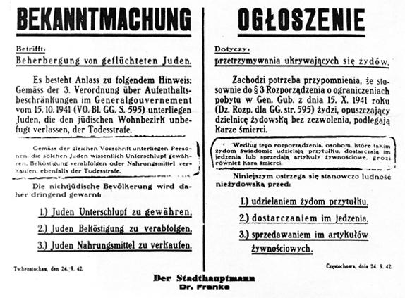 Uczcili 80. rocznicę utworzenia częstochowskiego getta 1