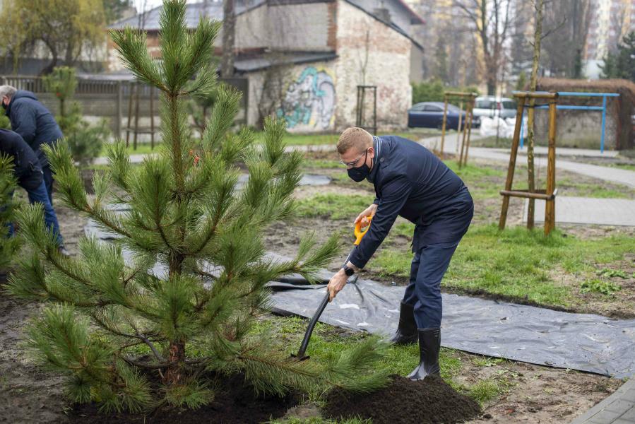 W Częstochowie powstaje kolejny park kieszonkowy 4