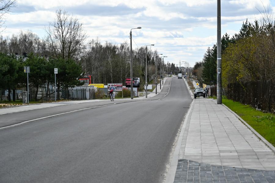 Na Północy koniec dużej inwestycji drogowej – ulica św. Brata Alberta rozbudowana, odwodnienie wykonane 1