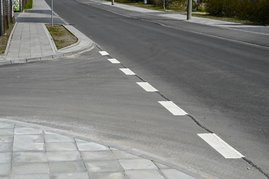 Na Północy koniec dużej inwestycji drogowej – ulica św. Brata Alberta rozbudowana, odwodnienie wykonane 4