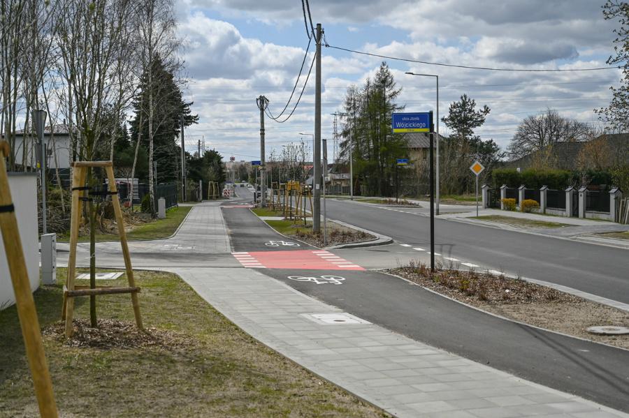 Na Północy koniec dużej inwestycji drogowej – ulica św. Brata Alberta rozbudowana, odwodnienie wykonane 6