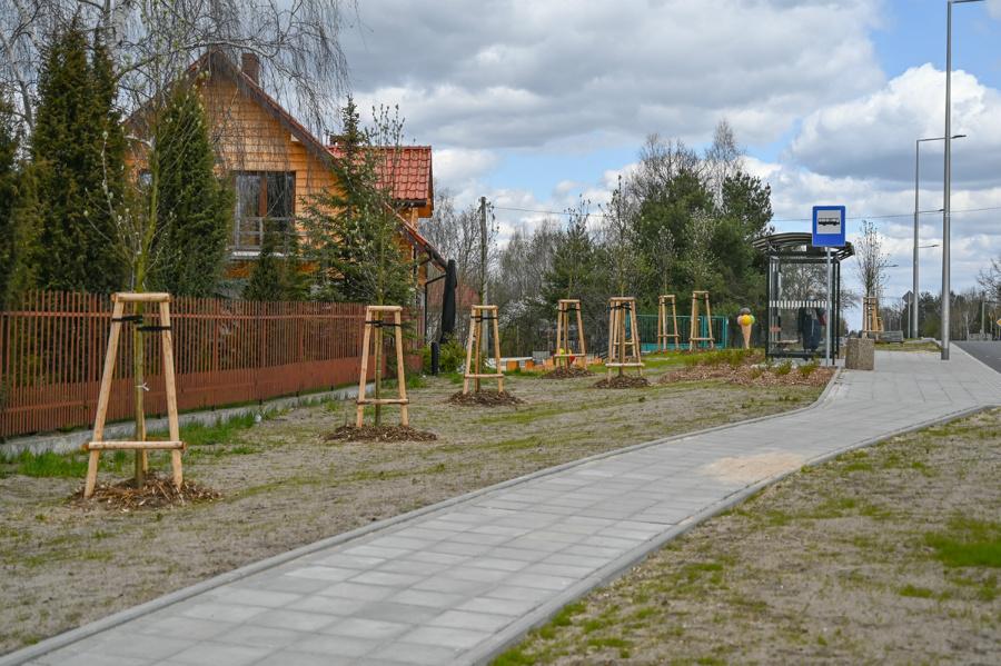 Na Północy koniec dużej inwestycji drogowej – ulica św. Brata Alberta rozbudowana, odwodnienie wykonane 8