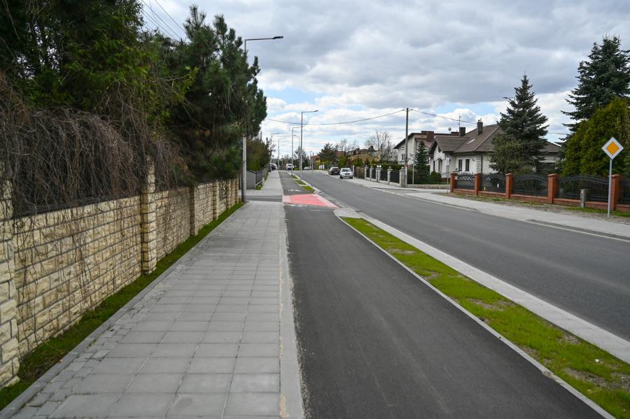 Na Północy koniec dużej inwestycji drogowej – ulica św. Brata Alberta rozbudowana, odwodnienie wykonane 9