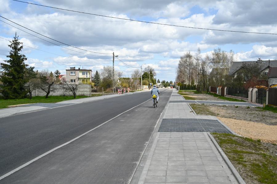 Na Północy koniec dużej inwestycji drogowej – ulica św. Brata Alberta rozbudowana, odwodnienie wykonane 2