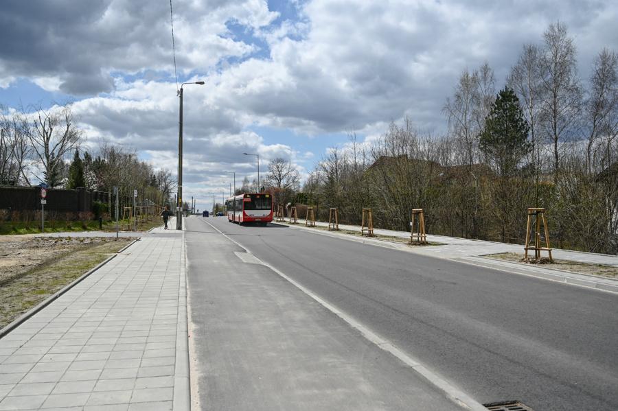 Na Północy koniec dużej inwestycji drogowej – ulica św. Brata Alberta rozbudowana, odwodnienie wykonane 3