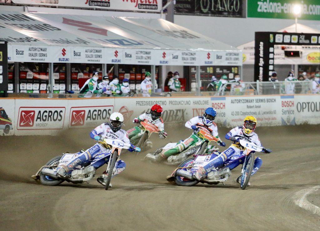 W Lesznie zwycięstwo rozstrzygnęło się w ostatnim wyścigu i Eltrox Włókniarz... 4