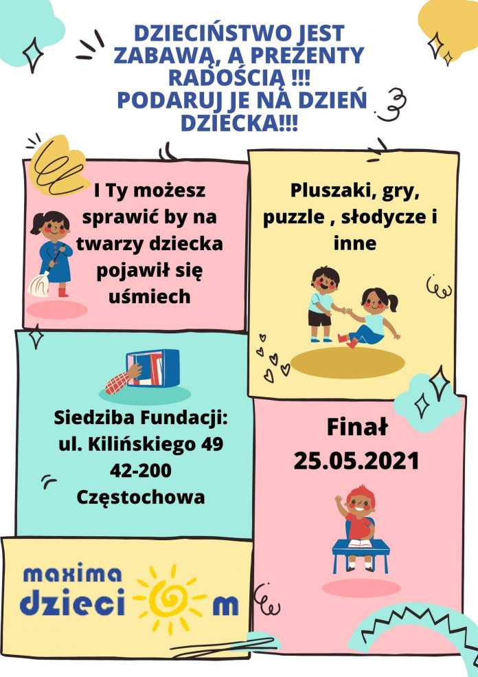 Fundacja Maxima Dzieciom organizuje w Częstochowie zbiórkę słodyczy i zabawek 3