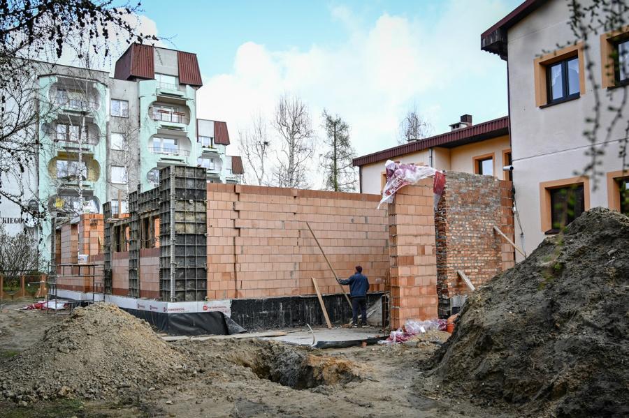 Miasto rozbudowuje przedszkole na Parkitce 1