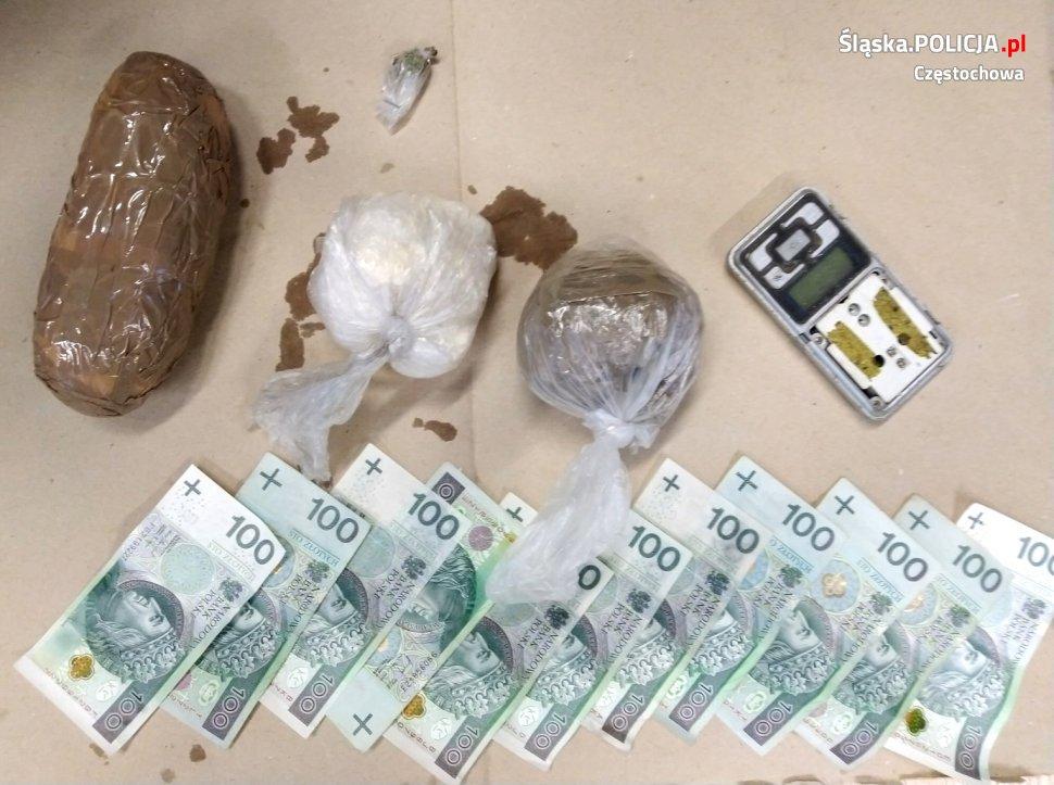 Narkotyki warte 40 tysięcy złotych nie trafią na rynek – informuje częstochowska policja 2