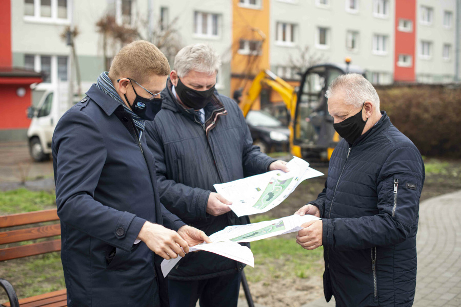W Częstochowie powstaje kolejny park kieszonkowy 3