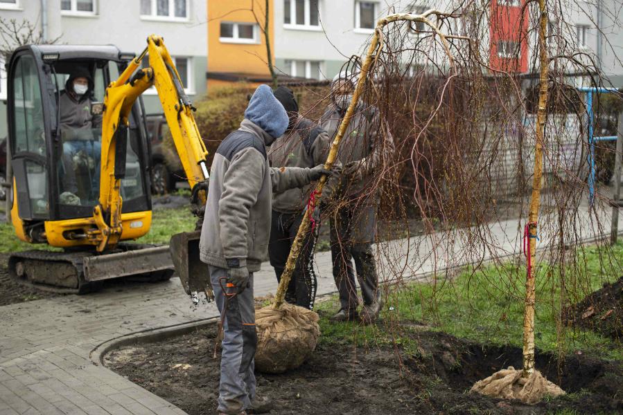 W Częstochowie powstaje kolejny park kieszonkowy 2