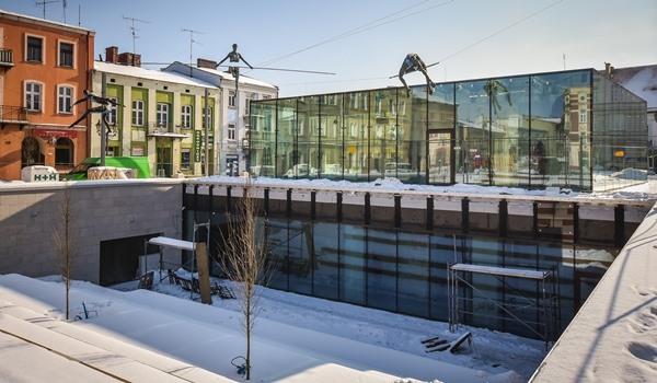 Częstochowska radna postuluje oklejenie szklanego pawilonu na Starym Rynku specjalnymi naklejkami, które mają uchronić ptaki przed wpadaniem na zbudowane z szyb ściany budynku 2