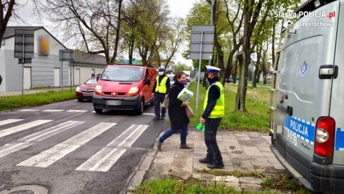 Częstochowska drogówka sprawdza, jak jest w bezpieczeństwem pieszych 2