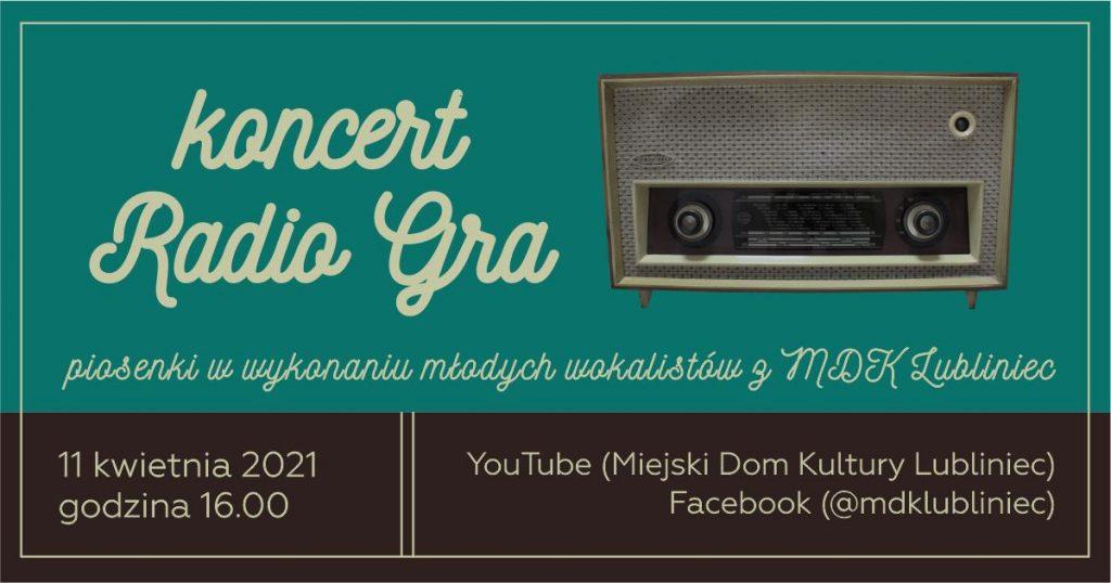 """MDK w Lublińcu zaprasza na koncert """"Radio gra!"""" 5"""