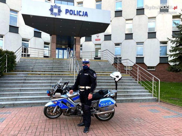 Po godzinach służby częstochowski policjant pomógł zatrzymać złodzieja 2