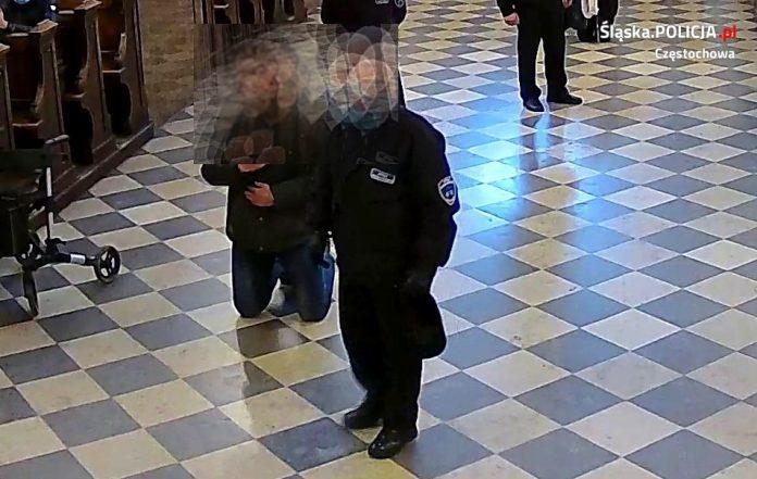 Mężczyzna poszukiwany w związku z atakiem na strażnika jasnogórskiego zgłosił się na policję 2