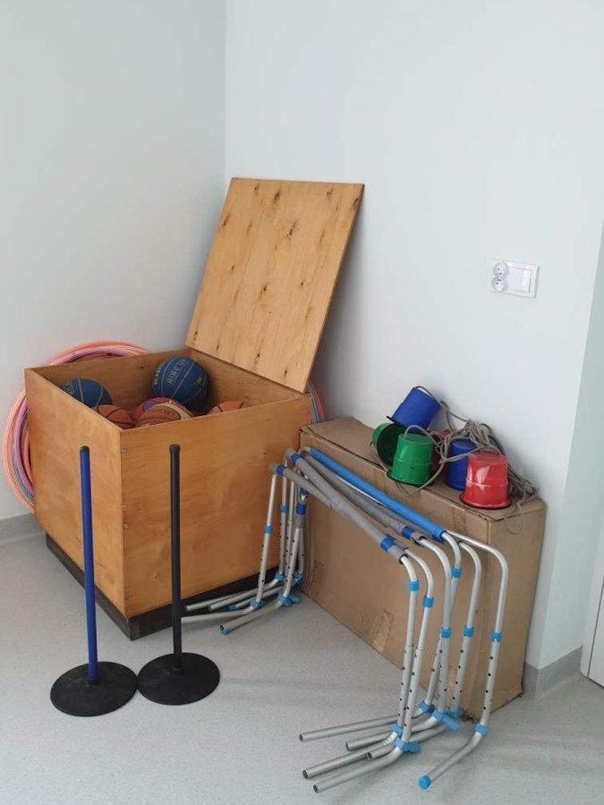 W Aleksandrii wybudowano nową salę gimnastyczną 12