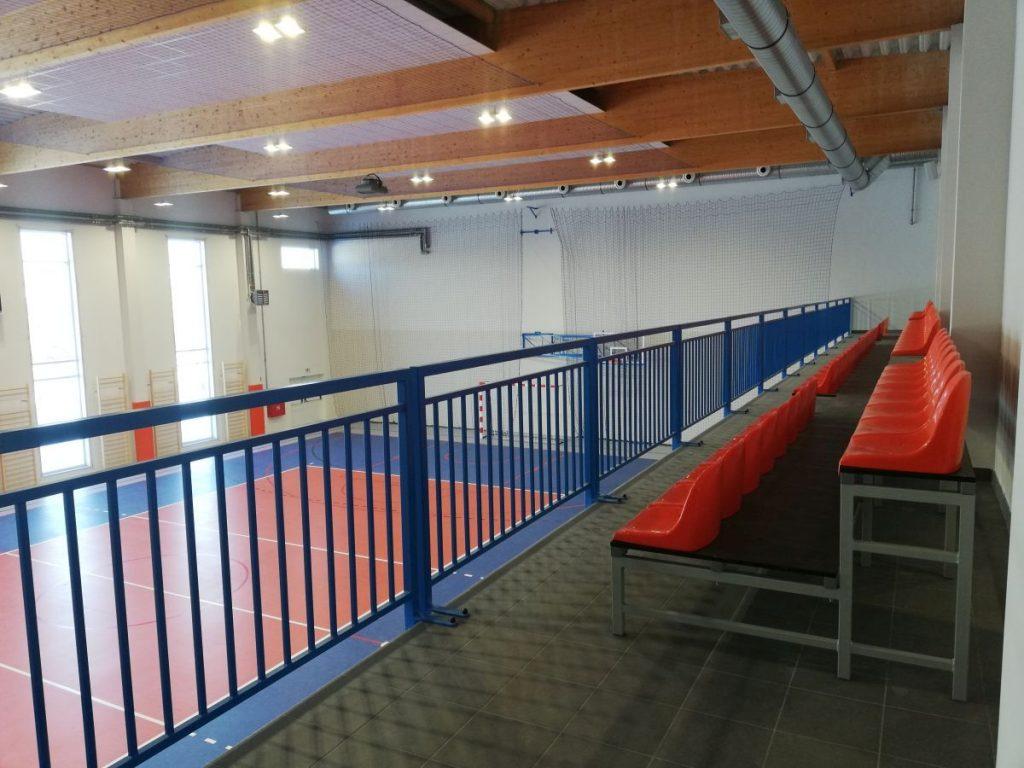 W Aleksandrii wybudowano nową salę gimnastyczną 3