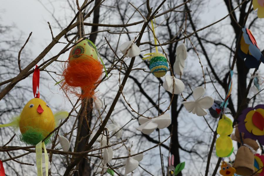 Na częstochowskim Placu Biegańskiego widać już Wielkanoc 3