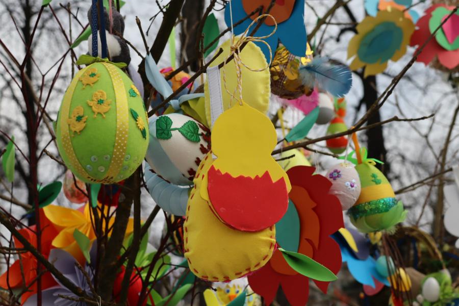 Na częstochowskim Placu Biegańskiego widać już Wielkanoc 4