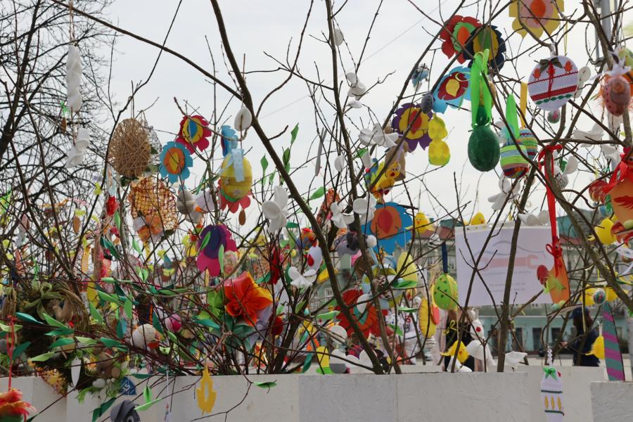 Na częstochowskim Placu Biegańskiego widać już Wielkanoc 7