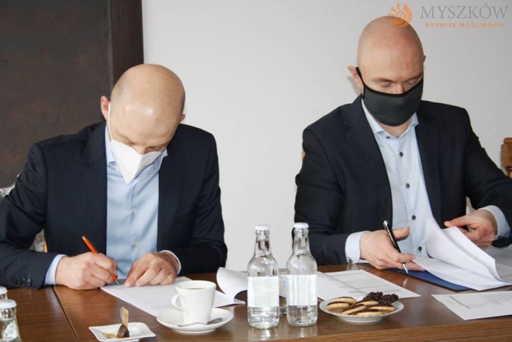 Umowa na projekt rewitalizacji centrum Myszkowa podpisana 1