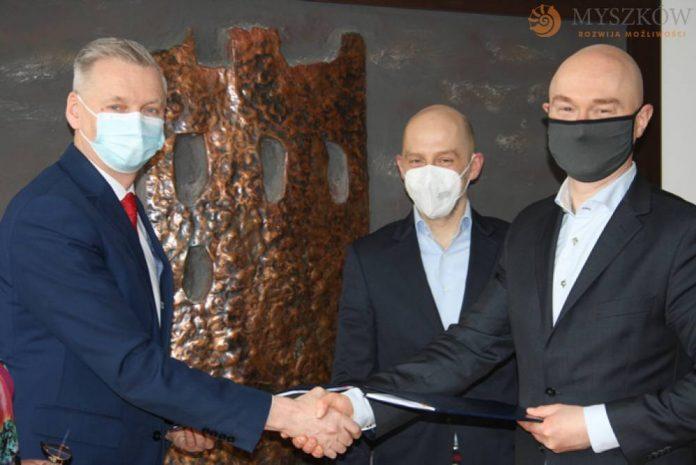 Umowa na projekt rewitalizacji centrum Myszkowa podpisana 3