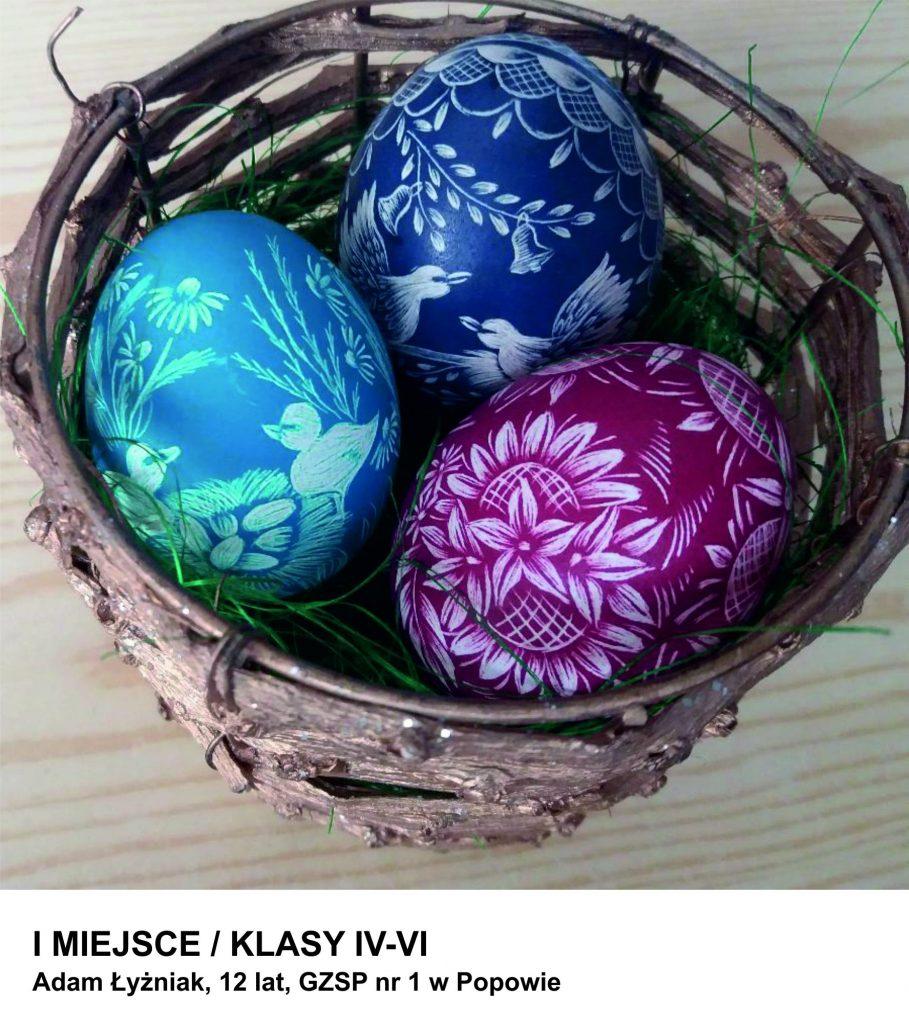 """Konkurs Plastyczny na """"Wielkanocną Pisankę"""" organizowany przez MDK w Lublińcu rozstrzygnięty 11"""