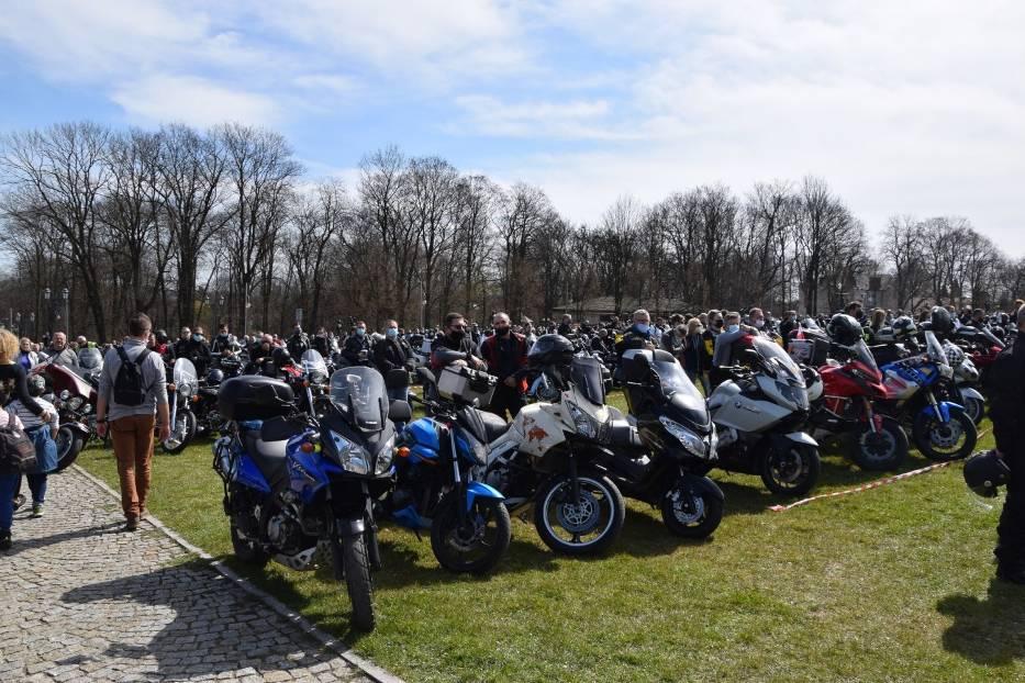 Tegoroczny sezon motocyklowy rozpoczęty mszą na Jasnej Górze 14