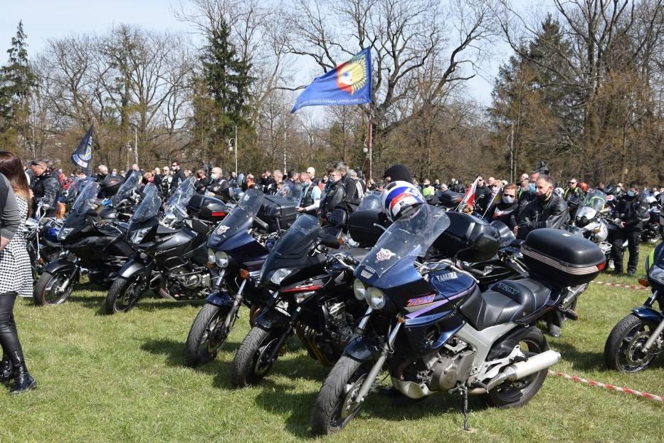 Tegoroczny sezon motocyklowy rozpoczęty mszą na Jasnej Górze 13