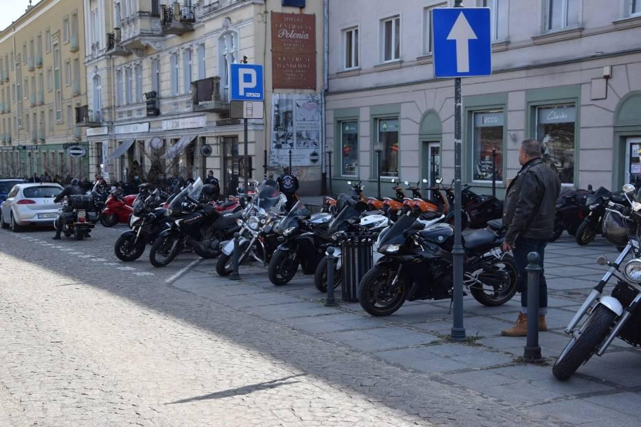 Tegoroczny sezon motocyklowy rozpoczęty mszą na Jasnej Górze 2