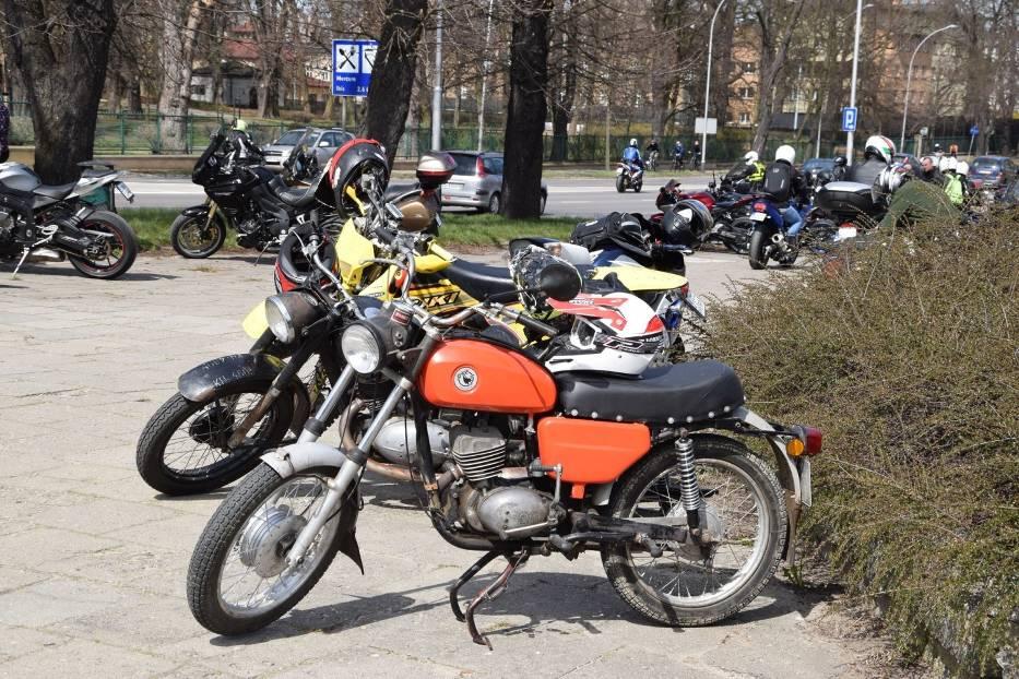 Tegoroczny sezon motocyklowy rozpoczęty mszą na Jasnej Górze 1