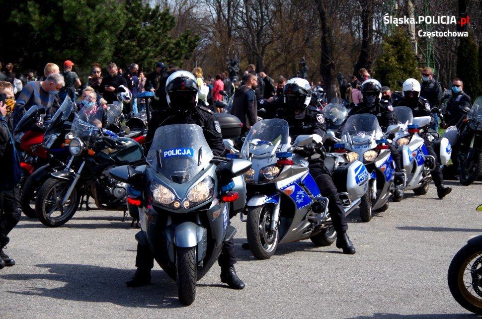 Tegoroczny sezon motocyklowy rozpoczęty mszą na Jasnej Górze 17