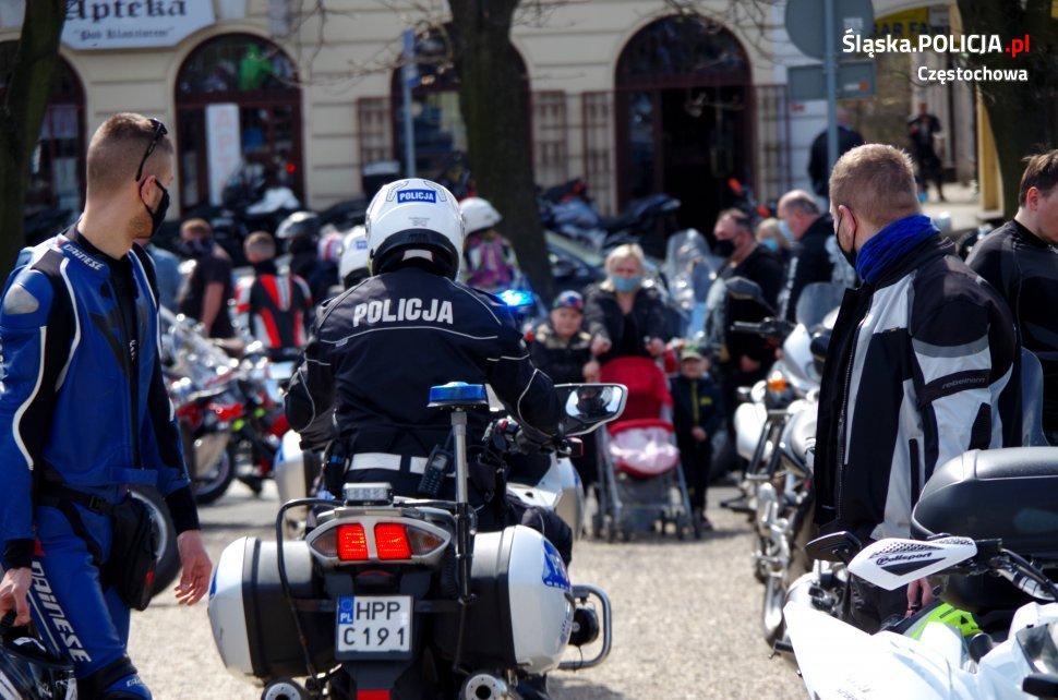 Tegoroczny sezon motocyklowy rozpoczęty mszą na Jasnej Górze 22